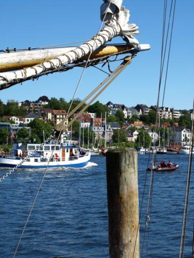 Zwangsurlaub in Flensburg genossen.