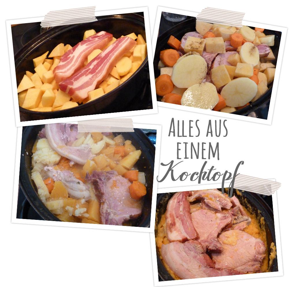 Bild: Beim Rübenmus kocht man alle Zutaten in einem großen Topf