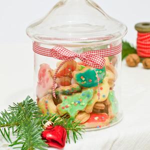 Verlosung einer Kosmetiktasche mit Eule und Rezept für bunte Plätzchen - cozy &cuddly Adventskalender