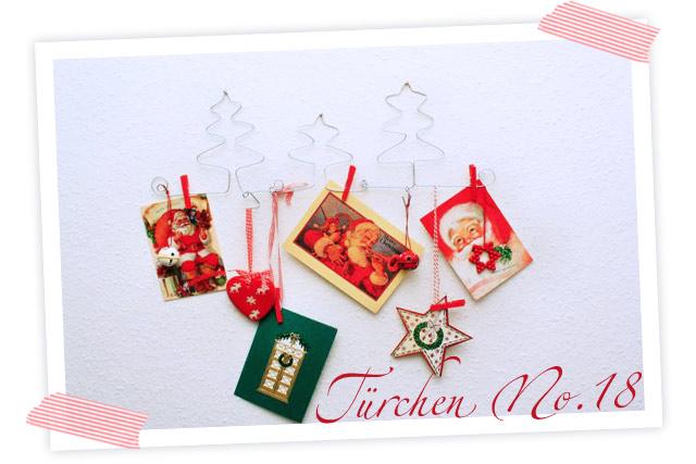 Wunderschönes DIY. Aus Draht gebogener halter für Weihnachtskarten oder Lieblingsfotos. Tolle Weihnachtsdekoration im Flur.