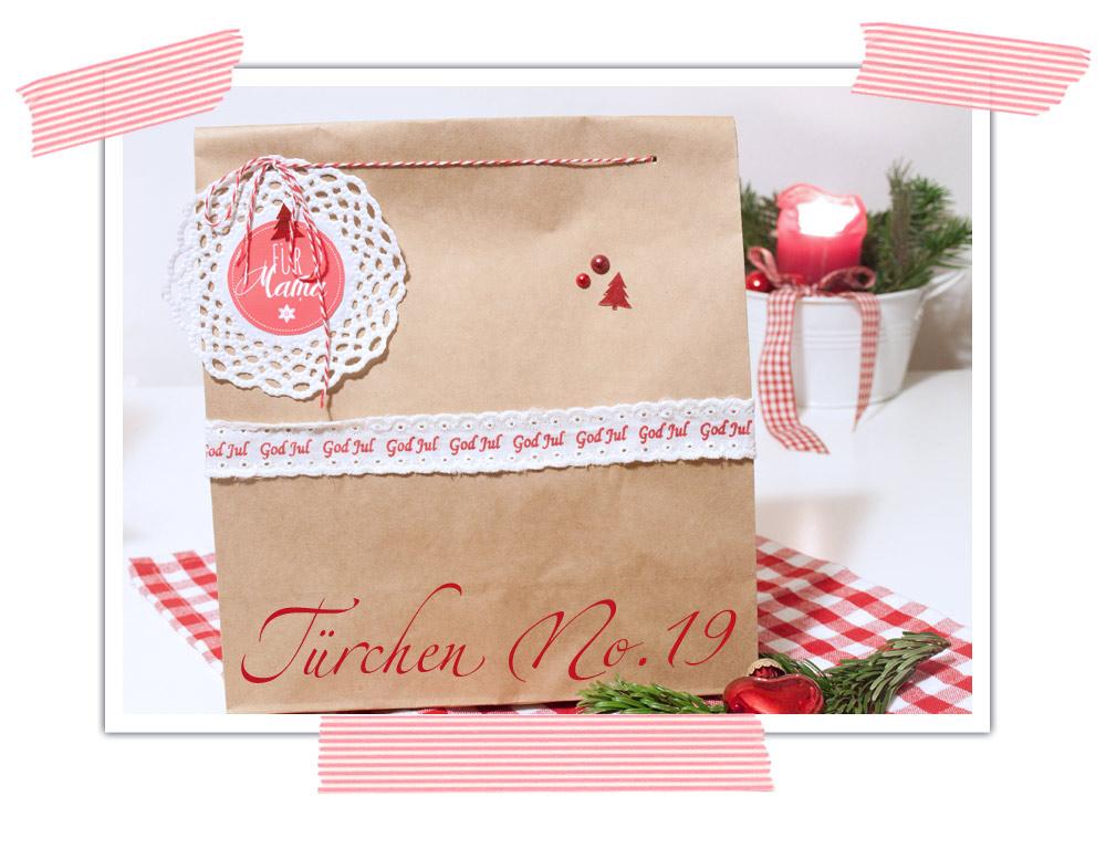 Inspiration zum Weihachtsgeschenke hübsch einpacken