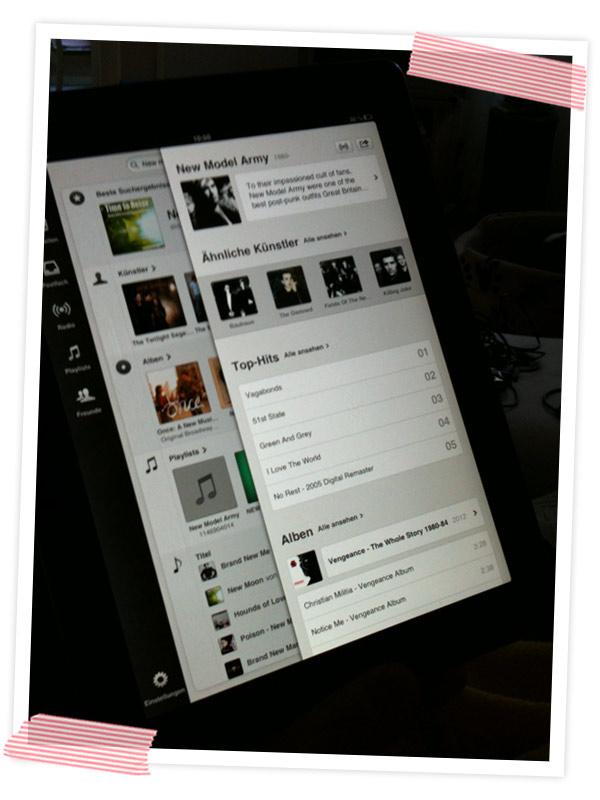 Extreme Playlisting. Den Spotify-Account zum Glühen gebracht und mit dem Liebsten schöne Listen fürs Leben zusammengestellt.