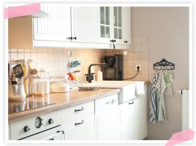 morgen geht es los endlich die neue k che cozy and cuddly. Black Bedroom Furniture Sets. Home Design Ideas