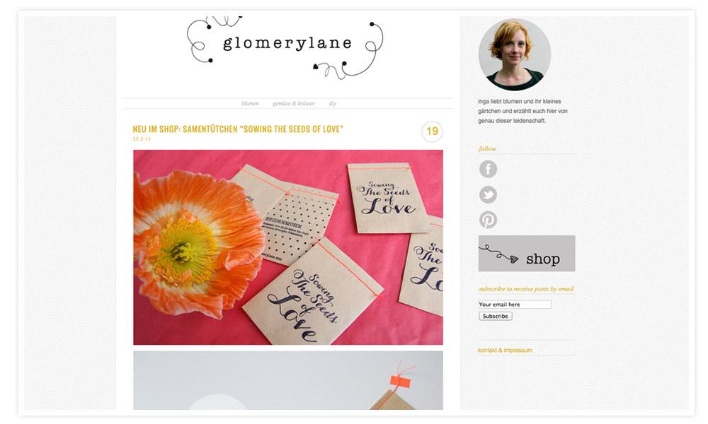 """Meine """"Blogging your Way""""-Klassenkameradin Inga hat vor zwei Wochen in München höchst persönlich mein Herz erobert, ihr Blog liebte ich aber schon vorher! Ich mag den reduzierten Stil, ihr hübsches Portrait auf der rechten Seite und dass sie komplett konsequent bei ihrem Thema bleibt!"""