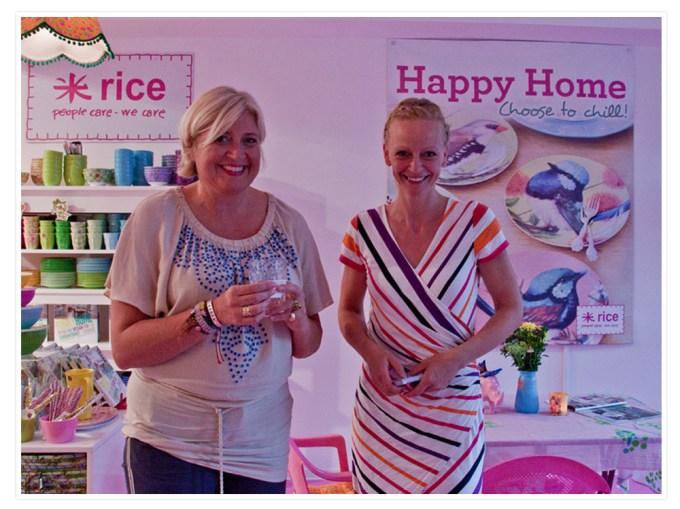 Wir hatten auch ein wenig Charlotte von Rice kennen zu lernen und ihr Löcher in den Bauch zu fragen.