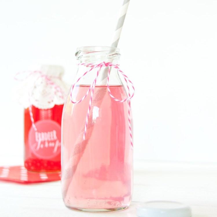 Rezept für Erdbeersirup aus dem Schnellkochtopf
