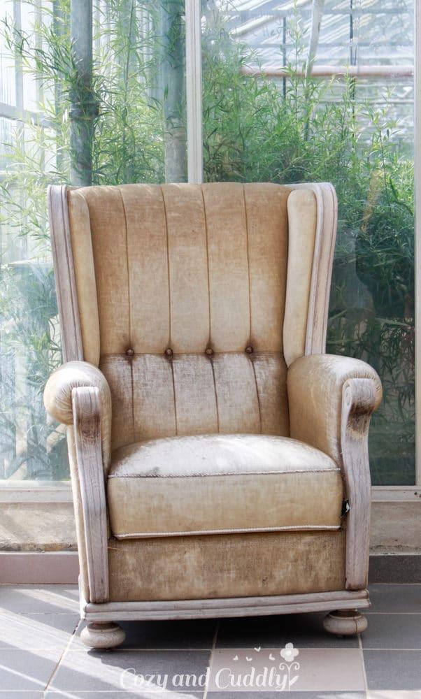 Der alte Sessel hatte es mir angetan