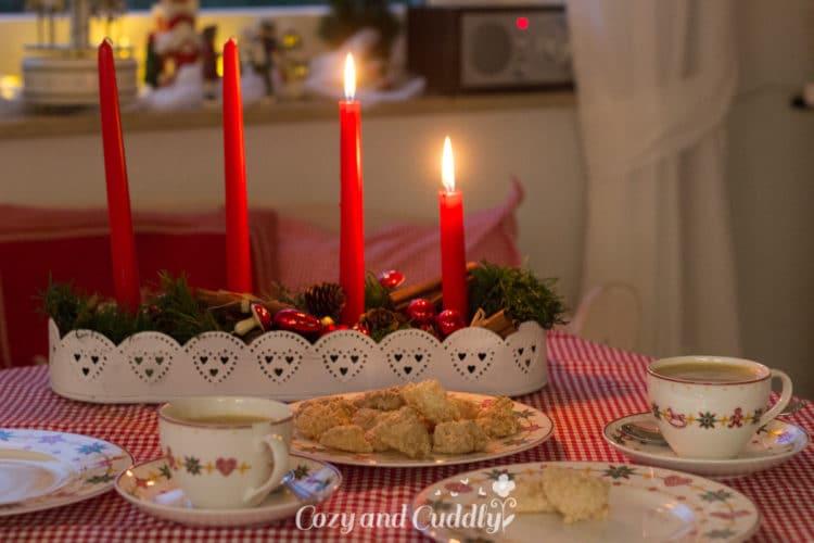 Advent: Rezept für Kokosmakronen - die einfachsten Weihnachstplätzchen der Welt, cozy and cuddly Adventskalender