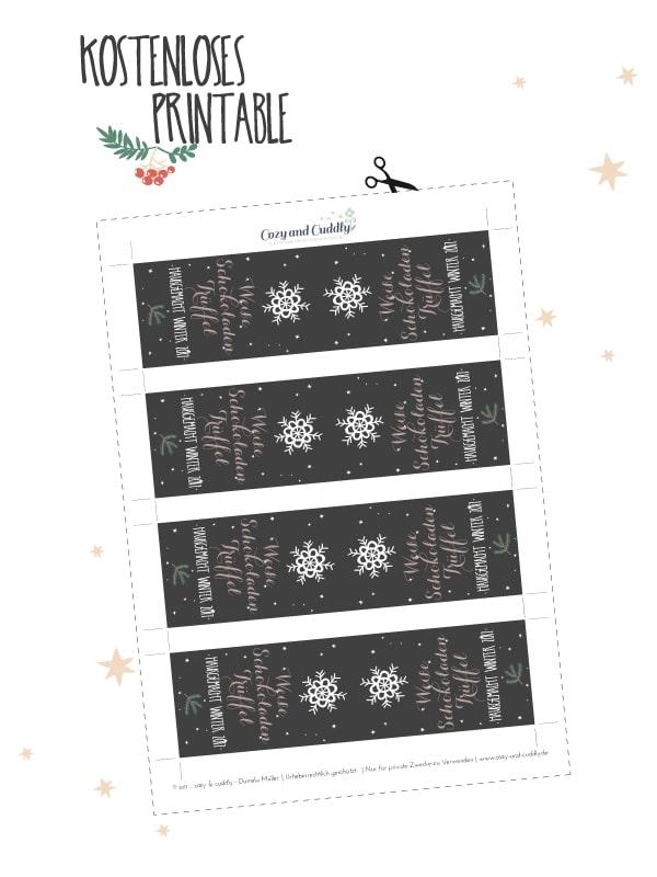 Adventskalender- Weihnachtliche Weisse Schokolade-Trueffel von Cozy and cuddly