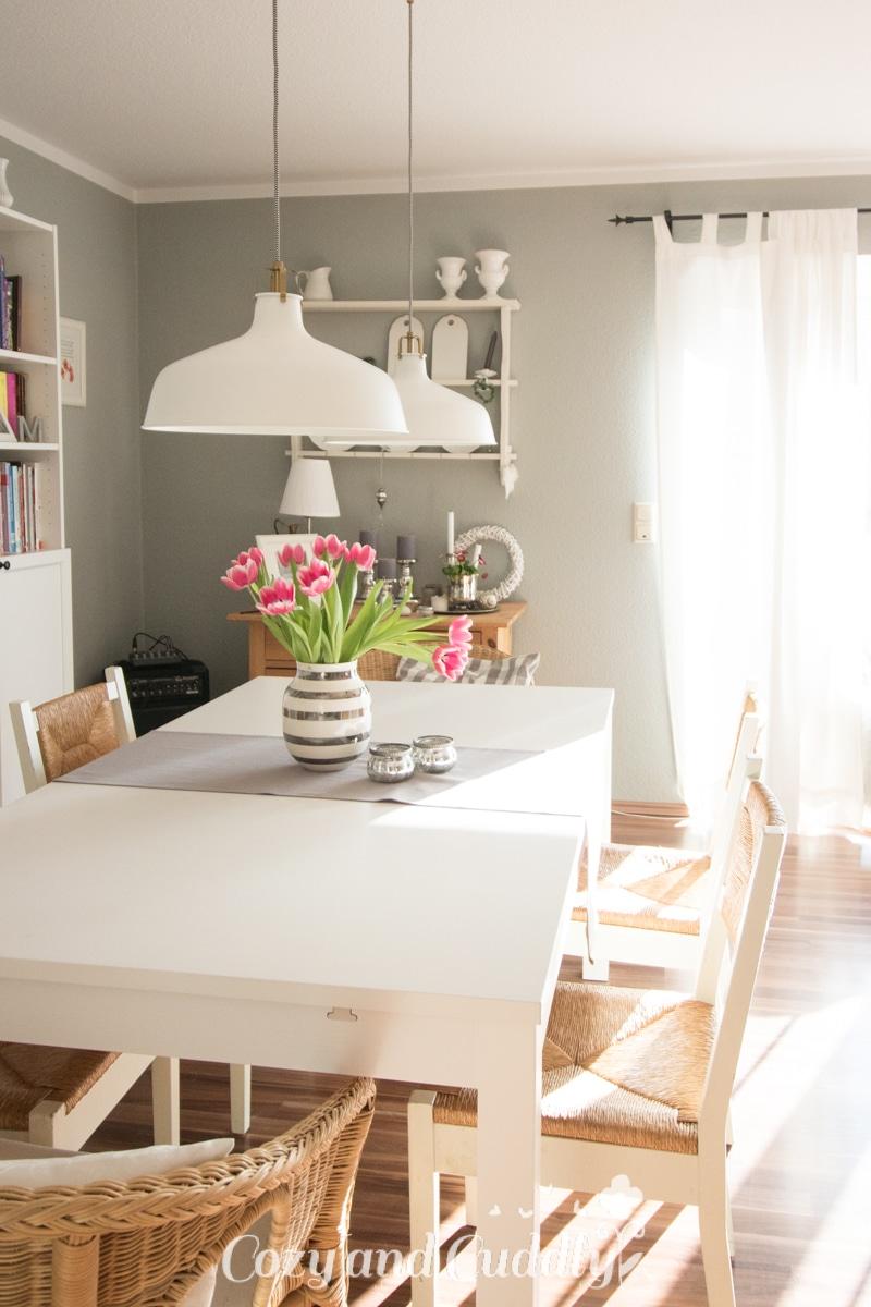 Unser neuer Esstisch - Bjursta von Ikea - Platz für 10 Personen - Dining -Inspiration