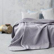 Κουβρλί υπέρδιπλο SOGNO grey 220*240 NIMA HOME