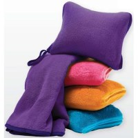 Nap Travel Set (Fleece Pillow & Blanket)