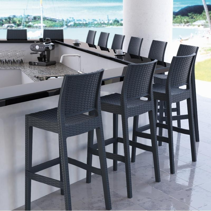 stackable metal patio chairs desk chair next day delivery restaurant furniture   outdoor blog cozydays