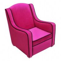 Tween Camille Chair Hot Pink - Black 96002 | CozyDays
