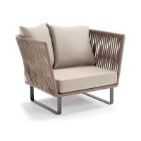 Bitta Braided Modern Outdoor Club Chair
