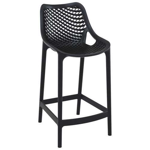 high chair that attaches to counter decorative covers air outdoor black isp067 bla cozydays