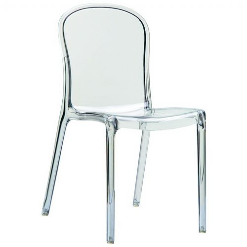 plastic see through chair commode rental victoria clear outdoor bistro isp033 tcl cozydays