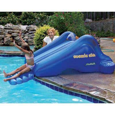 Cosmic Inflatable Pool Slide AV1015878  CozyDays