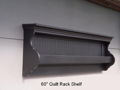 Quilt Racks and Shelves