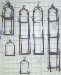 Wrought Iron Wall Plate Holder & Wall Plate Holder Picture ...