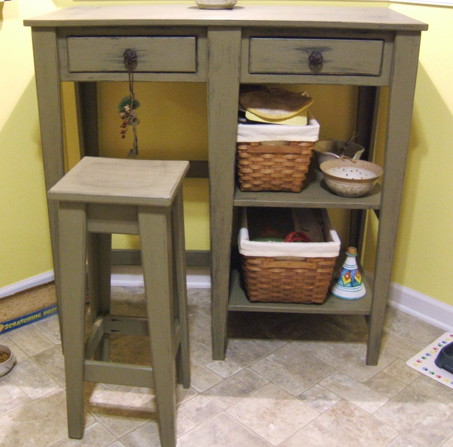 kitchen table with storage makeover on a budget custom furniture page 6
