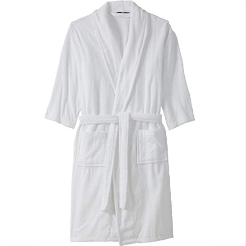 KingSize Mens Big /& Tall Jersey-Lined Flannel Robe