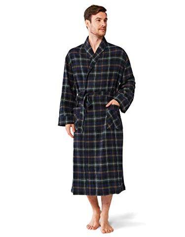 SIORO Dames Robe de Chambre /éponge /éponge Coton Robe Chaud col ch/âle Absorbant Peignoir Longueur de Mollet v/êtements de Nuit