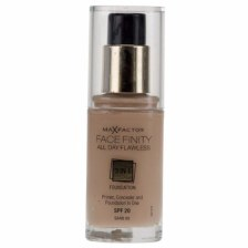 MAX FACTOR Facefinity All Day Flawless 3in1 Foundation SPF20 60 Sand 30ml