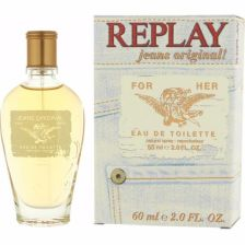 REPLAY Jeans Original For Her EDT 60ml