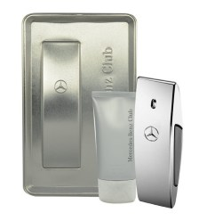 Mercedes-benz Club Eau De Toilette 100ml Combo: Edt 100ml + 75ml Shower Gel