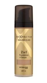 Max Factor Ageless Elixir 2in1 Foundation + Serum Makeup 30ml Spf15 60 Sand