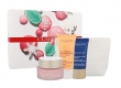 Clarins Multi-active Day Cream 50ml Combo: Daily Facial Care 50 Ml + Night Facial Care 15 Ml + Peeling One Step Gentle Exfoliating Cleanser 30 Ml + Cosmetic Bag (All Skin Types - For All Ages)