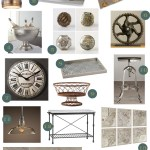 accessories for the industrial chic kitchen via www.cozystylishchic.com