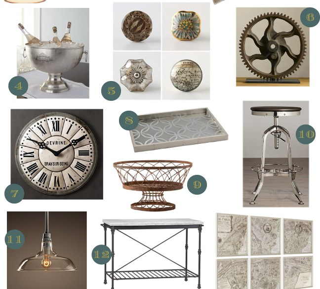 Accessories for the Industrial Chic Kitchen
