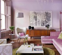 The Lilac Living Room