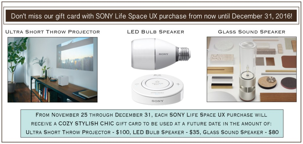 SONY Lifespace UX promo