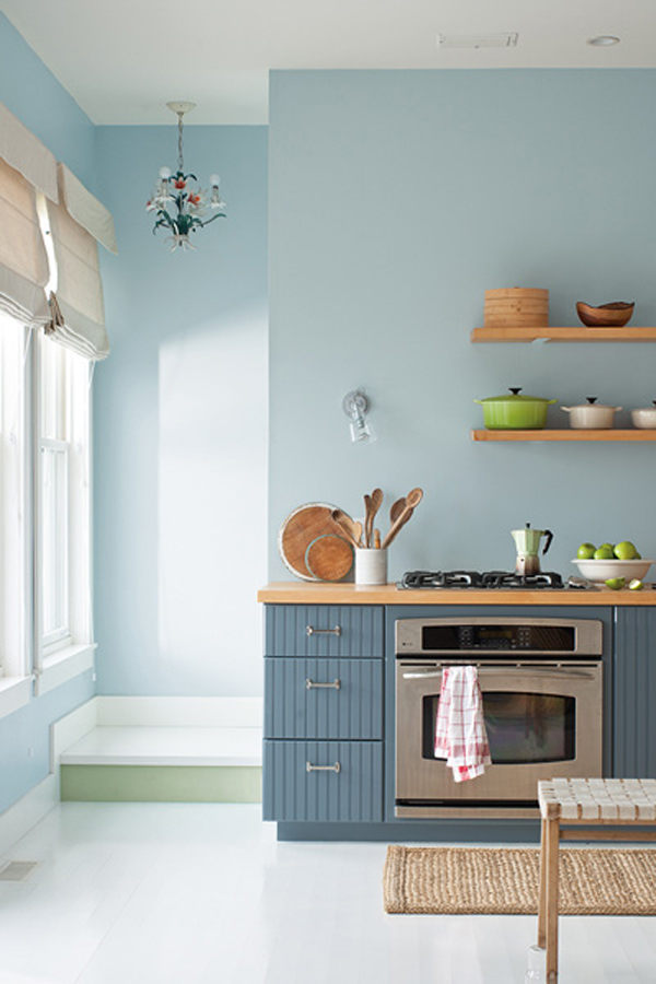 Nova Scotia Cottage - Benjamin Moore Color Trend 2014 Palette