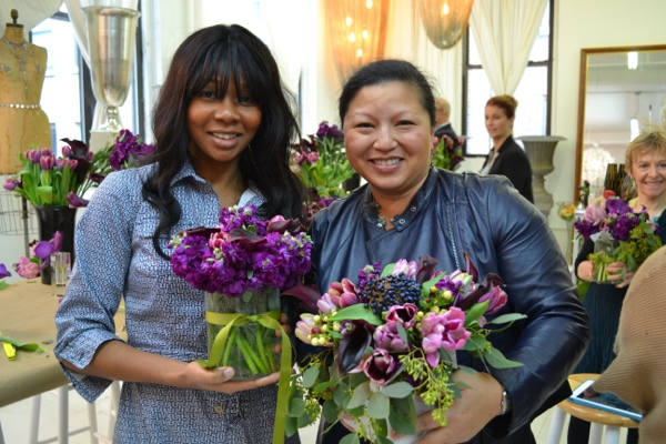 Flower arranging class with Tess Casey