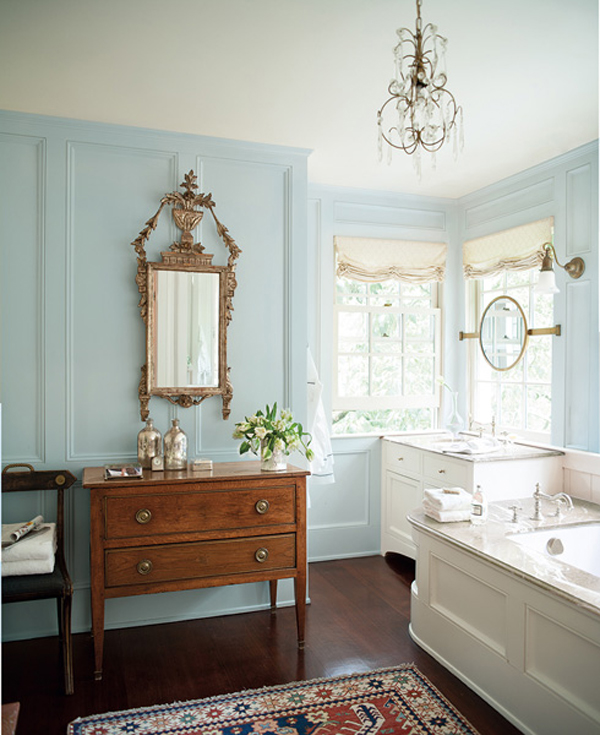 Charleston Townhouse- Benjamin Moore Color Trends 201