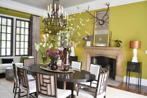 2014 Pasadena Showcase House -Dining Room by Michael Berman Limited
