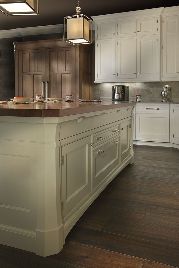 Luxury cabinetry -Ruskin Island detail