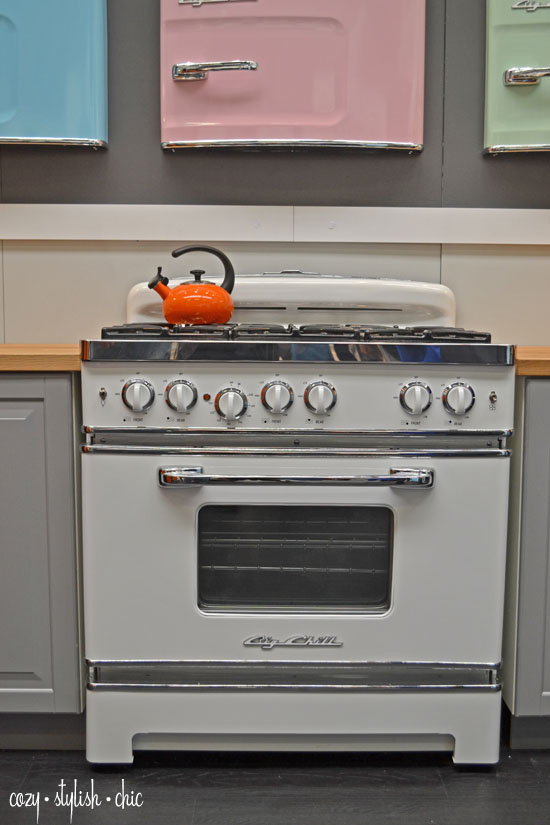 vintage kitchen stoves forged knives retro appliances meets technology big chill