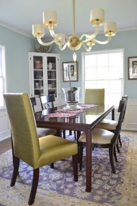 Dining room by by Pasadena interior designer Jeanne Chung