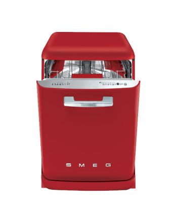 smeg dishwasher - retro kitchen appliances