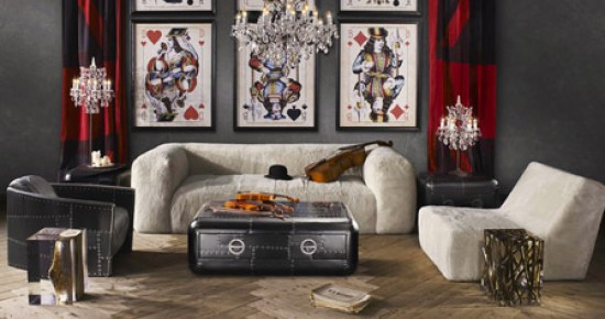 Sophisticated Man Room by Timothy Oulton