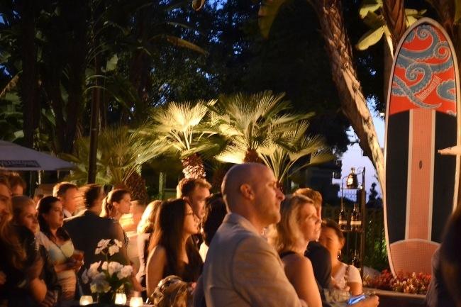 Robb Report Fairmont Bungalow Suites Opening party