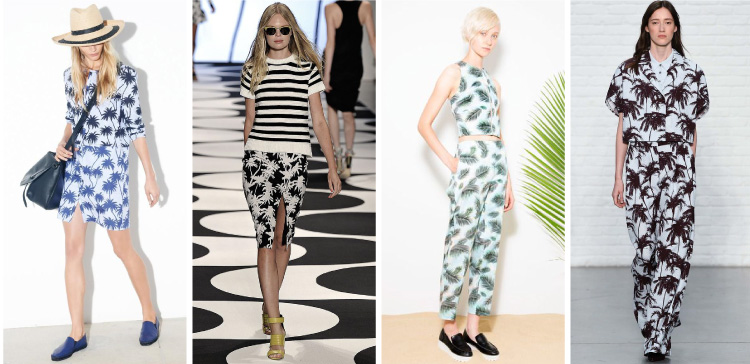 New York Fashion Week Spring/Summer 2015 Trends - Palm Trees | Cozy•Stylish•Chic #NYFW #SS2015