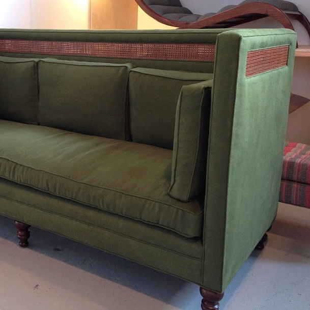 The Green Sofa from the Foundation Shop