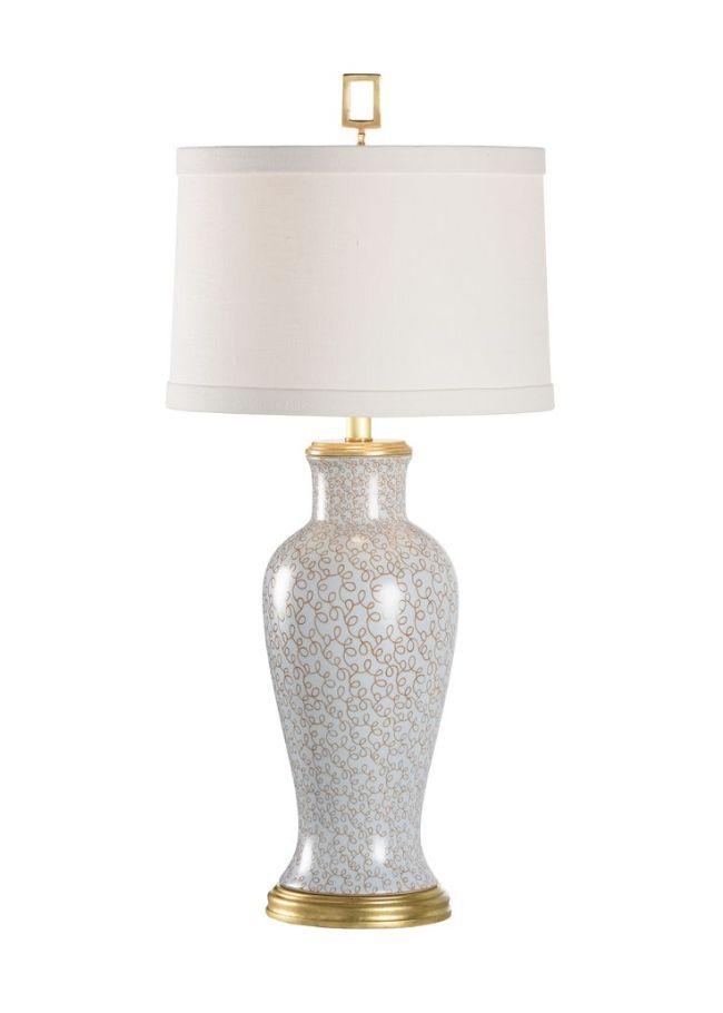 Swirl Vase Lamp-Chelsea House