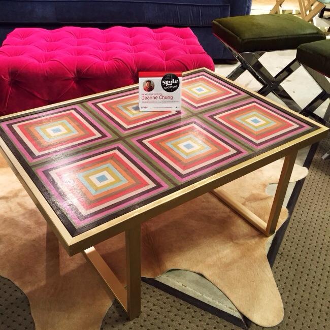 The Petite Kelly Table- Taylor Burke Home/Mirth Studio collaboration via Cozy Stylish Chic